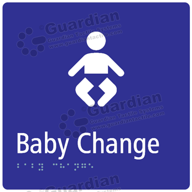 Baby Change in Blue (180x180) [GBS-03BC-BL]