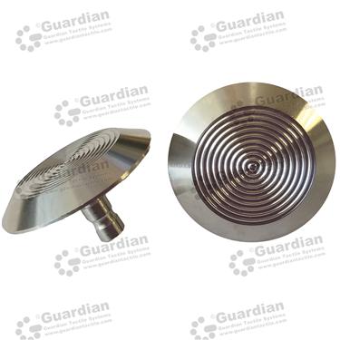 316 Warning Tactile (ECO 6x15mm stem) [GTS615E-316]