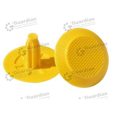 TPU Warning Tactile (8x20mm stem) - Yellow [GTS820P-GTPUYL]