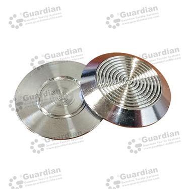316 Warning Tactile (FLAT 5mm) [GTSFLAT-316]