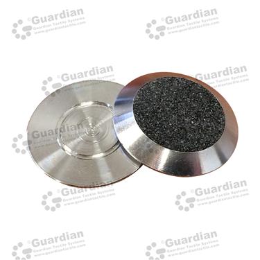 316 Warning Tactile with Black Carborundum (FLAT 5mm) [GTSFLAT-316BK]