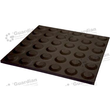 Ceramic Warning Tactile (300x300mm) - Black [box of 11] [GTI-01CMW-3BK]