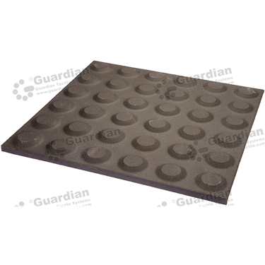 Ceramic Warning Tactile (300x300mm) - Charcoal [box of 11] [GTI-01CMW-3CH]