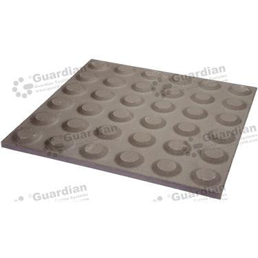 Ceramic Warning Tactile (300x300mm) - Gray [box of 11] [GTI-01CMW-3GR]