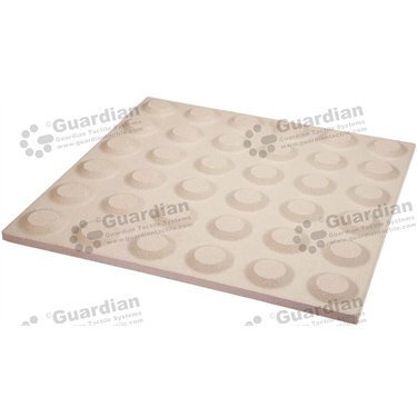 Ceramic Warning Tactile (300x300mm) - Ivory [box of 11] [GTI-01CMW-3IV]
