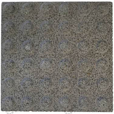 Concrete Warning Tactile (300x300x40mm) - Rough Charcoal [GTI-01CW-34RCH]