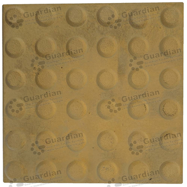Concrete Warning Tactile (300x300x40mm) - Smooth Yellow [GTI-01CW-34SYL]