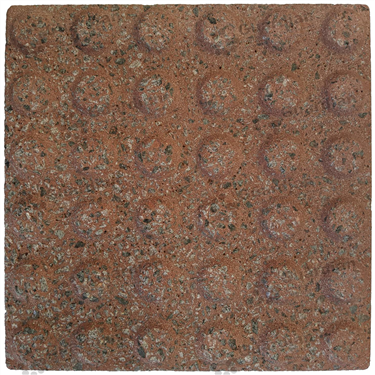 Concrete Warning Tactile (300x300x60mm) - Rough Red [GTI-01CW-36RRD]