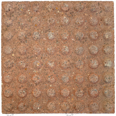 Concrete Warning Tactile (400x400x40mm) - Rough Red [GTI-01CW-44RRD]