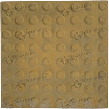 Concrete Warning Tactile (400x400x60mm) - Smooth Yellow [GTI-01CW-46SYL]