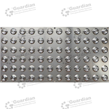 316 Warning Tactile Plate (600x300mm) [GTS600300-316]