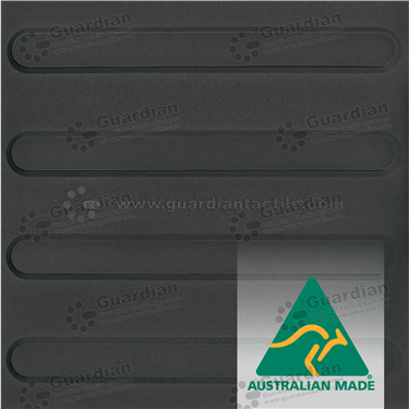 Directional Tactile 300x300 - Black [GTS3D-BK]