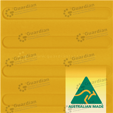 Directional Tactile 300x300 - Yellow [GTS3D-YL]