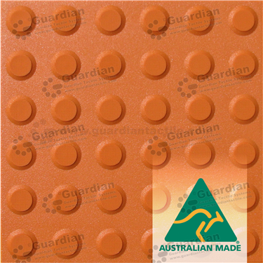 Warning Tactile 300x300 - Terracotta [GTS3W-TR]