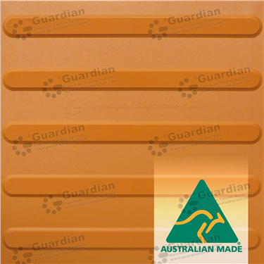 Product photo: Directional Tactile 400x400 - Terracotta [GTS4D-TR]