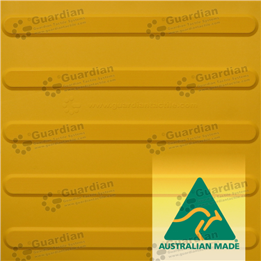 Directional Tactile 400x400 - Yellow [GTS4D-YL]