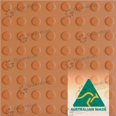 Warning Tactile 400x400 - Terracotta [GTS4W-TR]