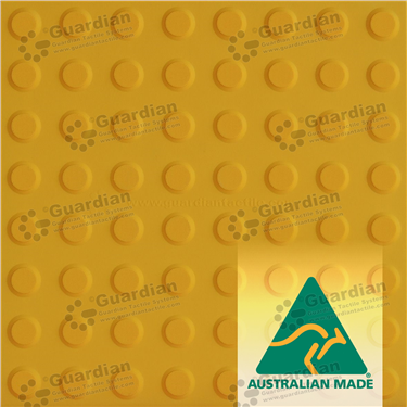 Warning Tactile 400x400 - Yellow [GTS4W-YL]