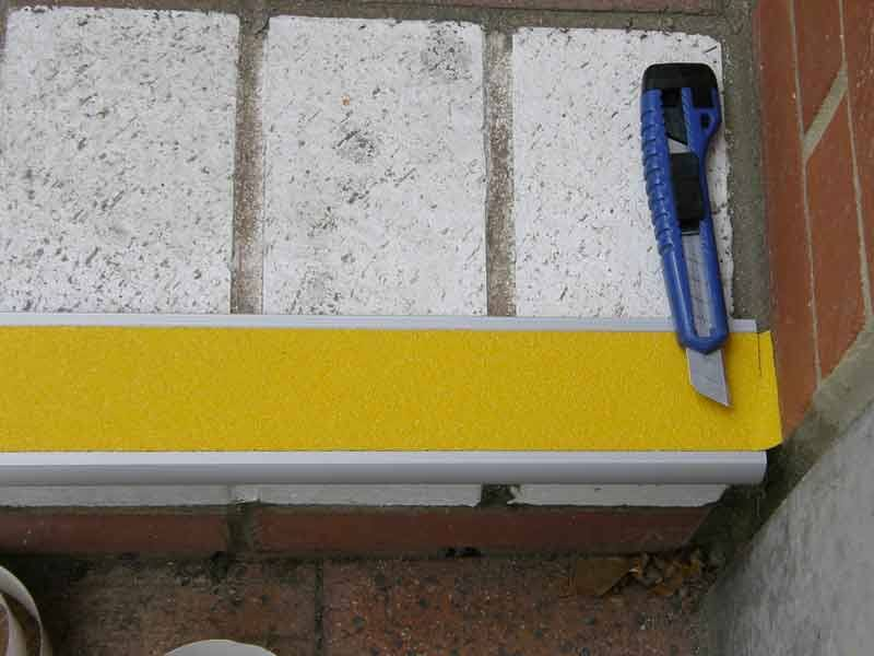 Install Aluminium Stair Nosing